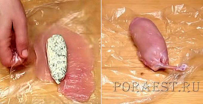zavoravchivaem-kotletu-s maslom