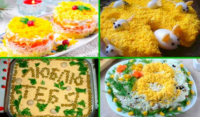 salat-mimoza-s-konservami-kak-ukrasit