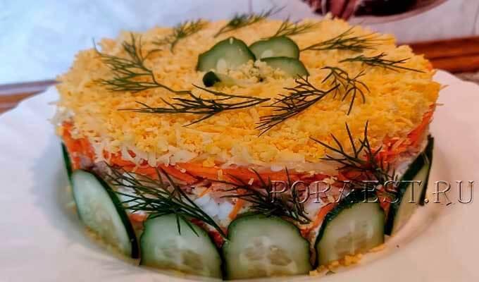 salat-mimoza-so-skumbriej-morkovju-po-korejski