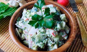 salat-s-rediskoj-i-ogurcom