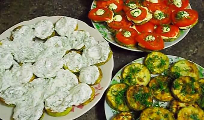 Кабачки жареные на сковороде — как пожарить кабачки быстро и вкусно