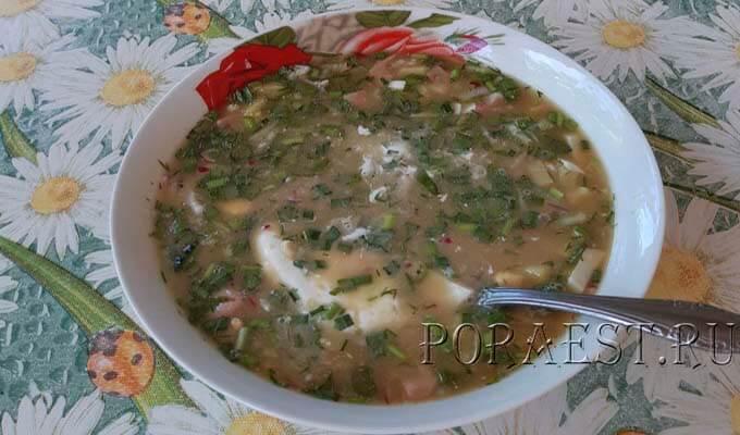 okroshka-na-kvase-s-kolbasoj-po-klassicheskomu-receptu