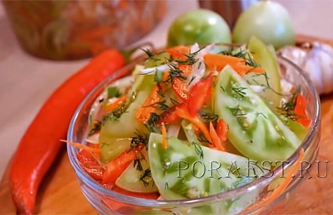 ochen-vkusnaja-zakuska-iz-zeljonyh-pomidor