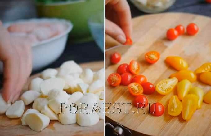 mocarella-pomidory-cherri-dlja-salata