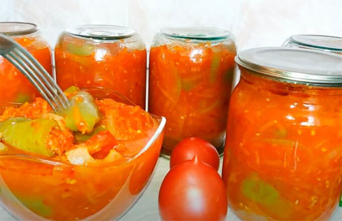 lecho-s-percem-morkovju-lukom-pomidorami